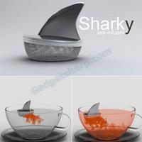 sharky the tea infuser (actually exists)
