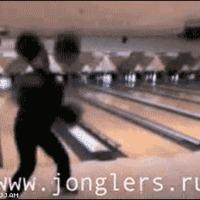bowling balls juggle