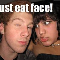 must eat face