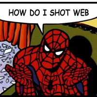 how do i shot web