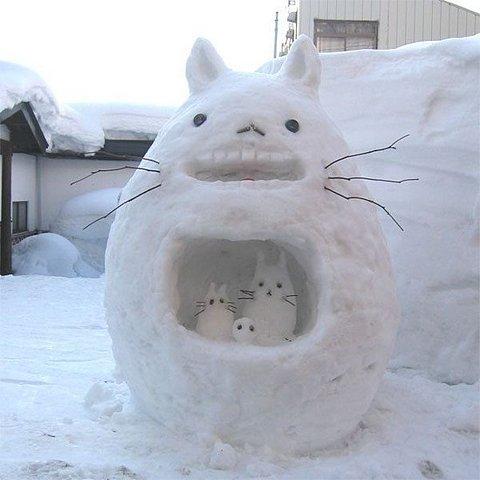 snow totoro - pichars.org