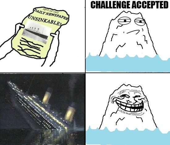 iceberg sinks