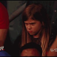angry wrestling kid