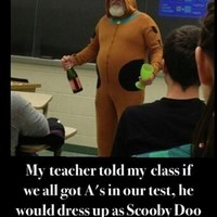 scooby doo teacher