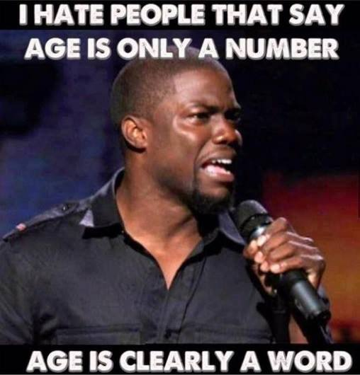 age is only a number?