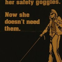 wear your safety goggles