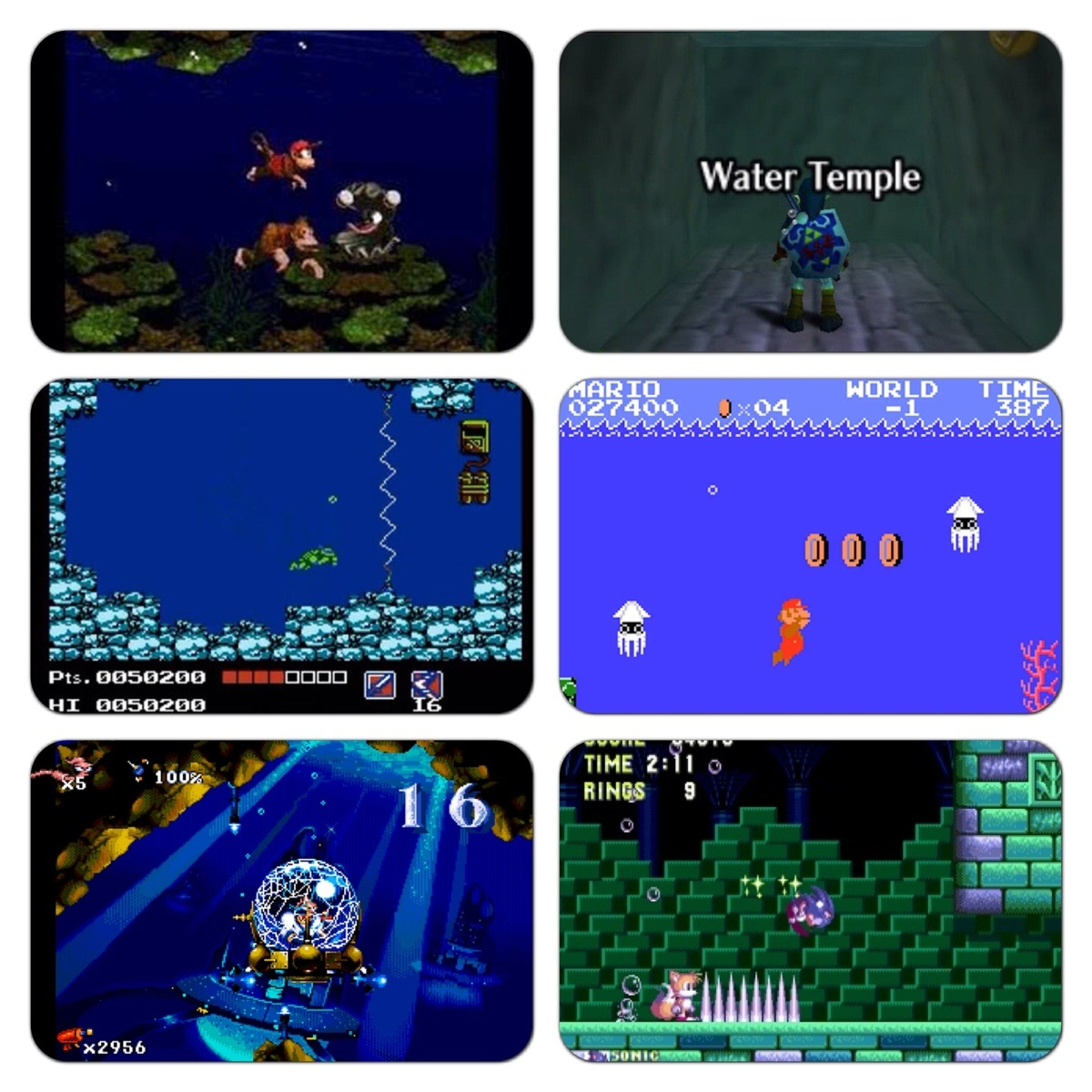 There's a water level in every game