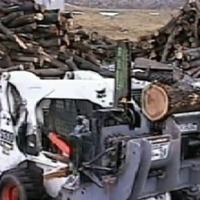 lumberjack robot