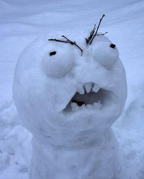 rage snowman
