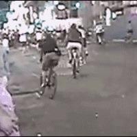 cop attacks cyclist