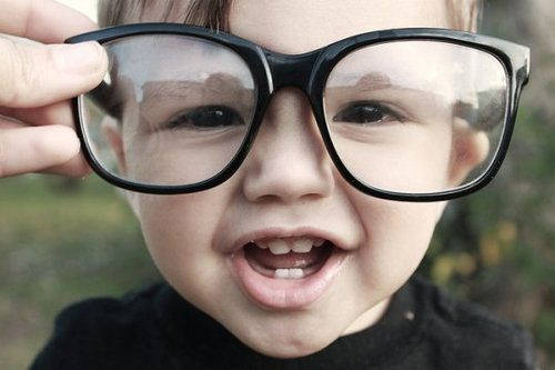 glasses kid