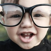 glasses kid