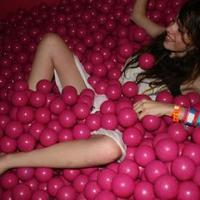ball pit girl