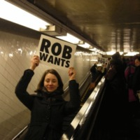 give rob a high five