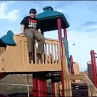 playground jump failure
