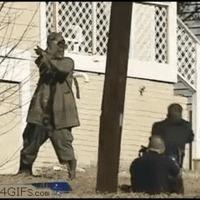 ninja skills versus police