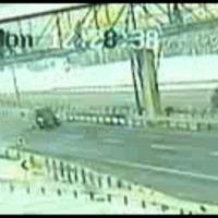 Truck, Walk Bridge, Fail.