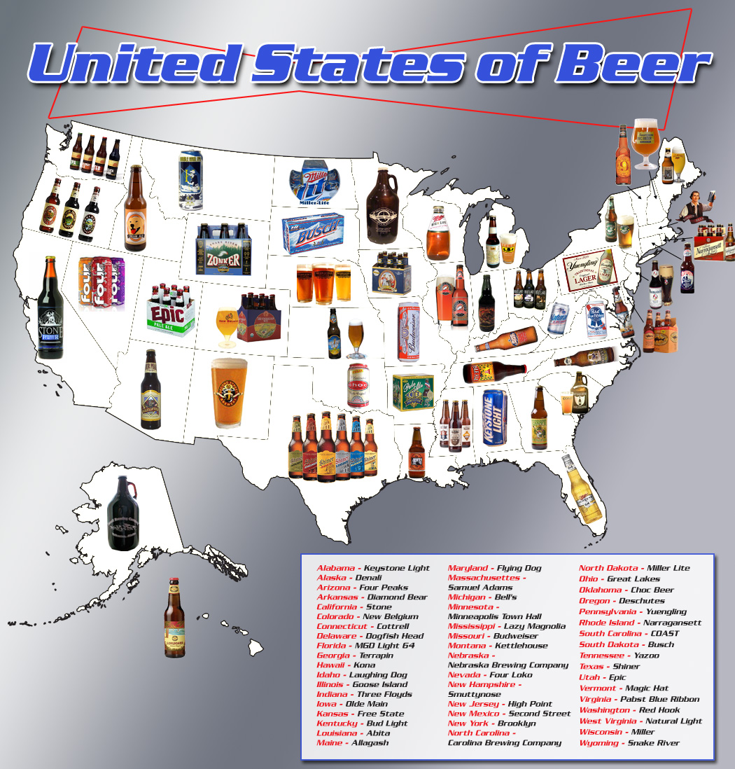 Beers of America - pichars.org