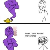 troll wish genie