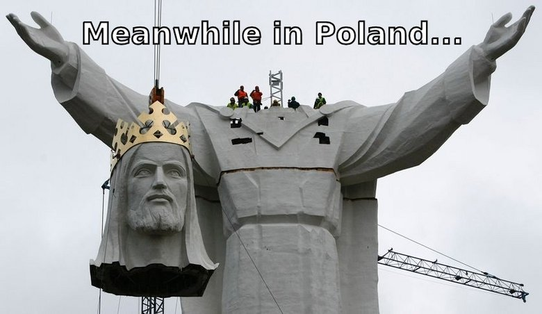 meanwhile in poland