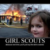 Girl Scounts R Evil