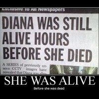 before she was dead