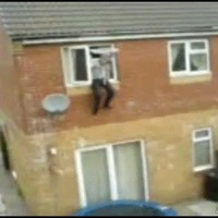 stupid use of trampoline