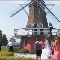 wedding at windmill