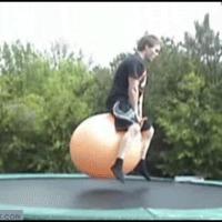 trampoline ball fail