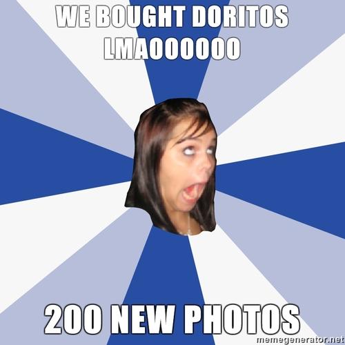 we got doritos!!