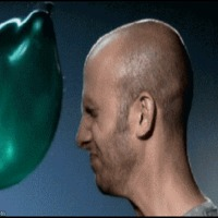 slow motion water balloon