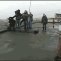 roof jumping
