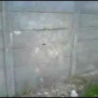 break cement wall