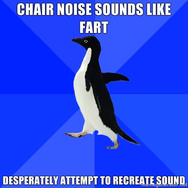 chair noise makes farting noise
