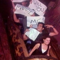 marriage proposal water ride