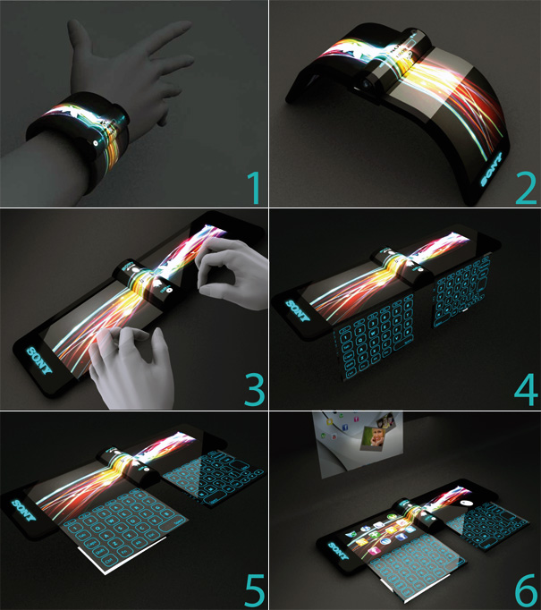 laptop bracelet prototype