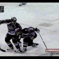 hug on ice skates