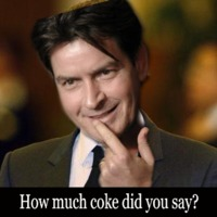 how much coke did you say?