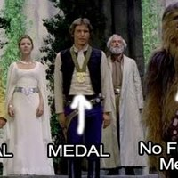 chewbacca gets no medal