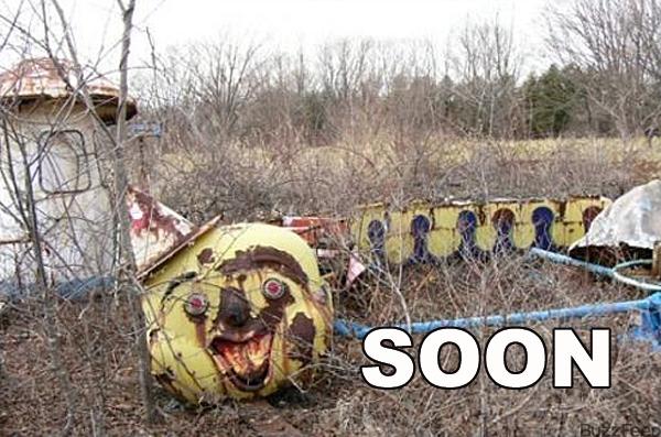 clown train soon
