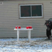 ridiculous beer pong