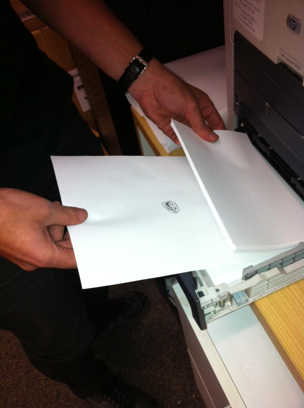 paper troll