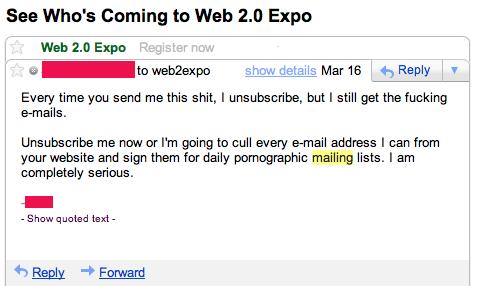spam e-mail response - pichars.org