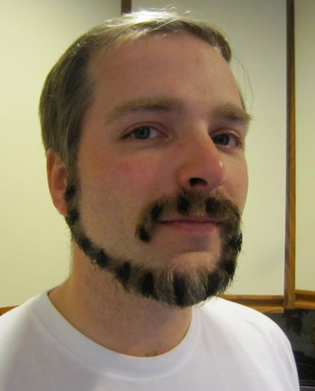 monkey tail beard