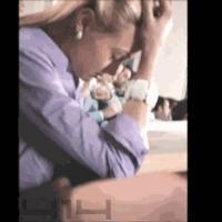 sleeping in class...