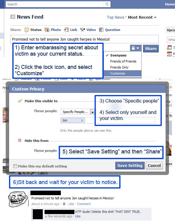 facebook prank - pichars.org