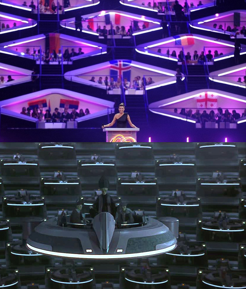 meanwhile on eurovision