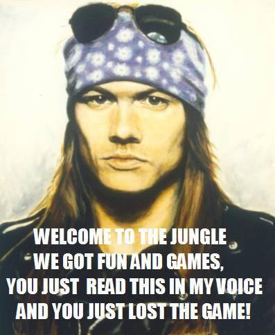 welcome to the jungle - pichars.org