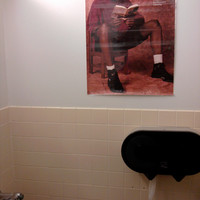 never pooping at work again