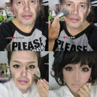 steve buscemi makeup